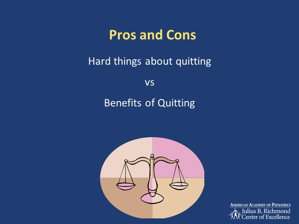 Hard things about quitting