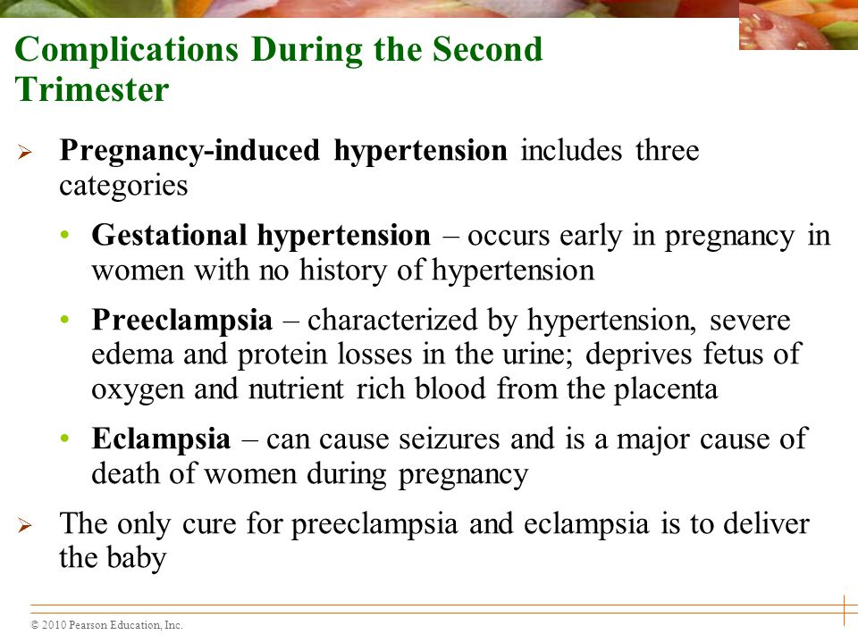 Complications During the Second Trimester