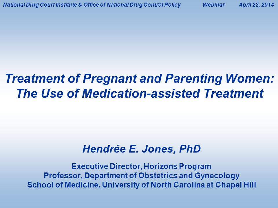 National Drug Court Institute & Office of National Drug Control Policy Webinar April 22, 2014