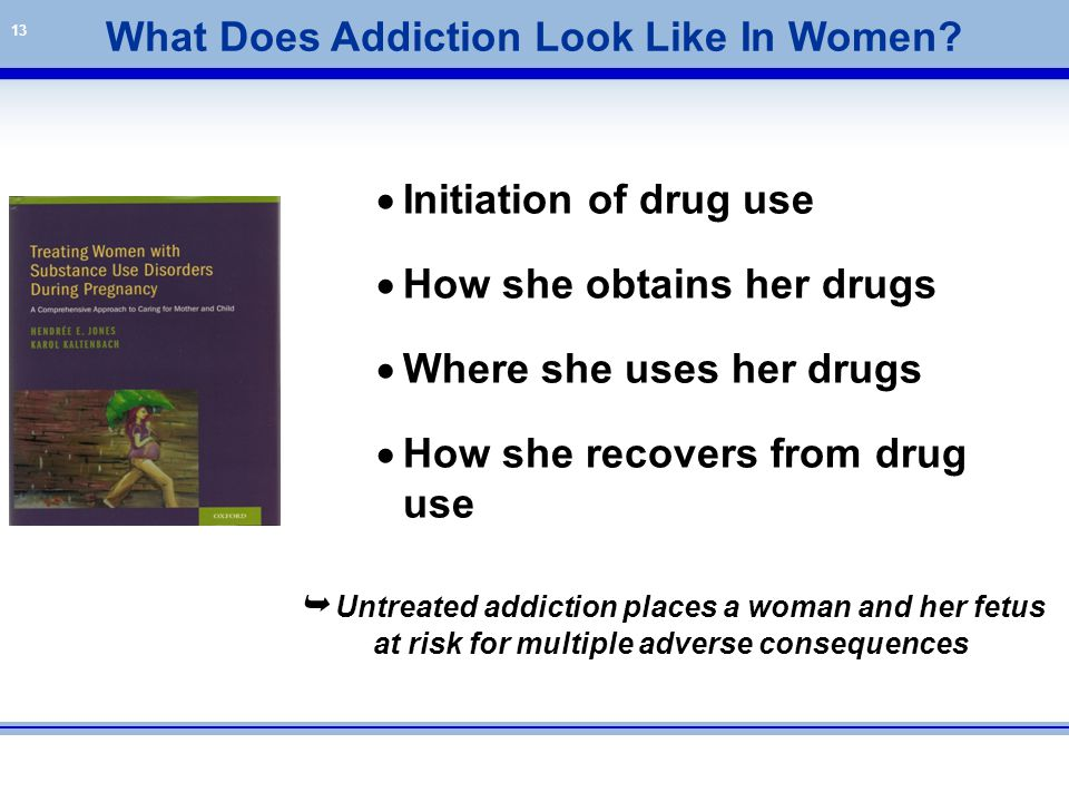 What Does Addiction Look Like In Women