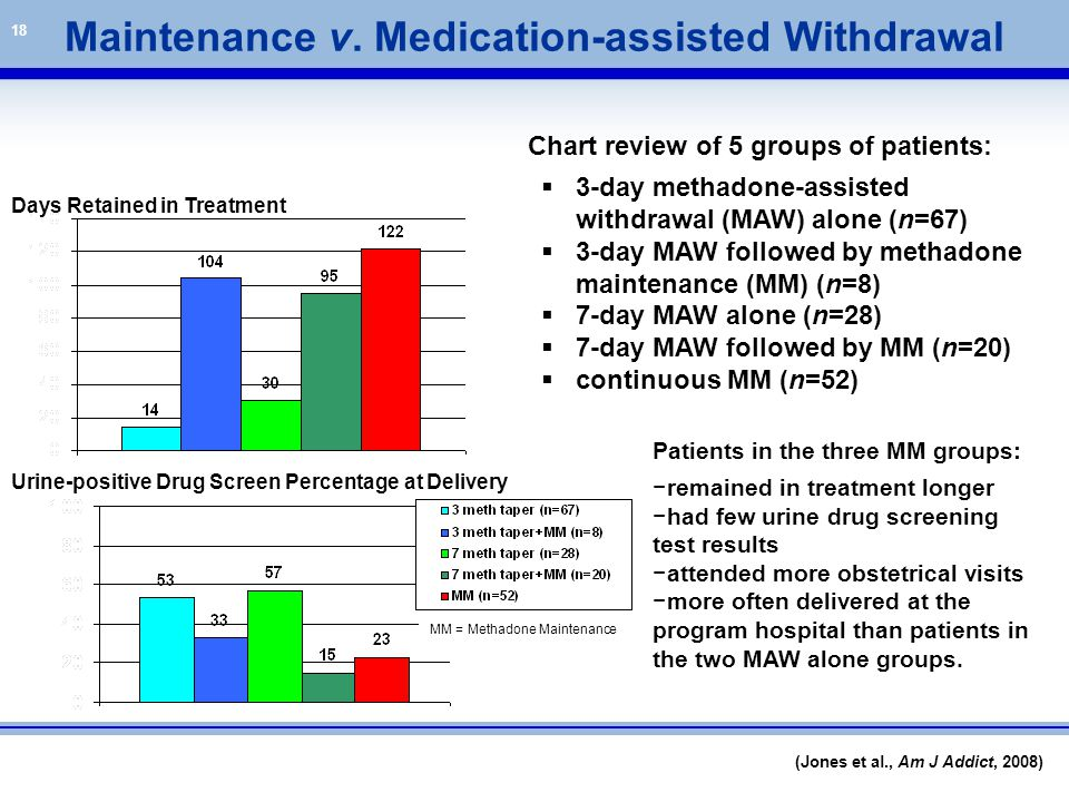Maintenance v. Medication-assisted Withdrawal