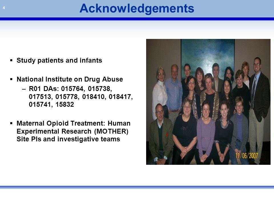 Acknowledgements Study patients and infants