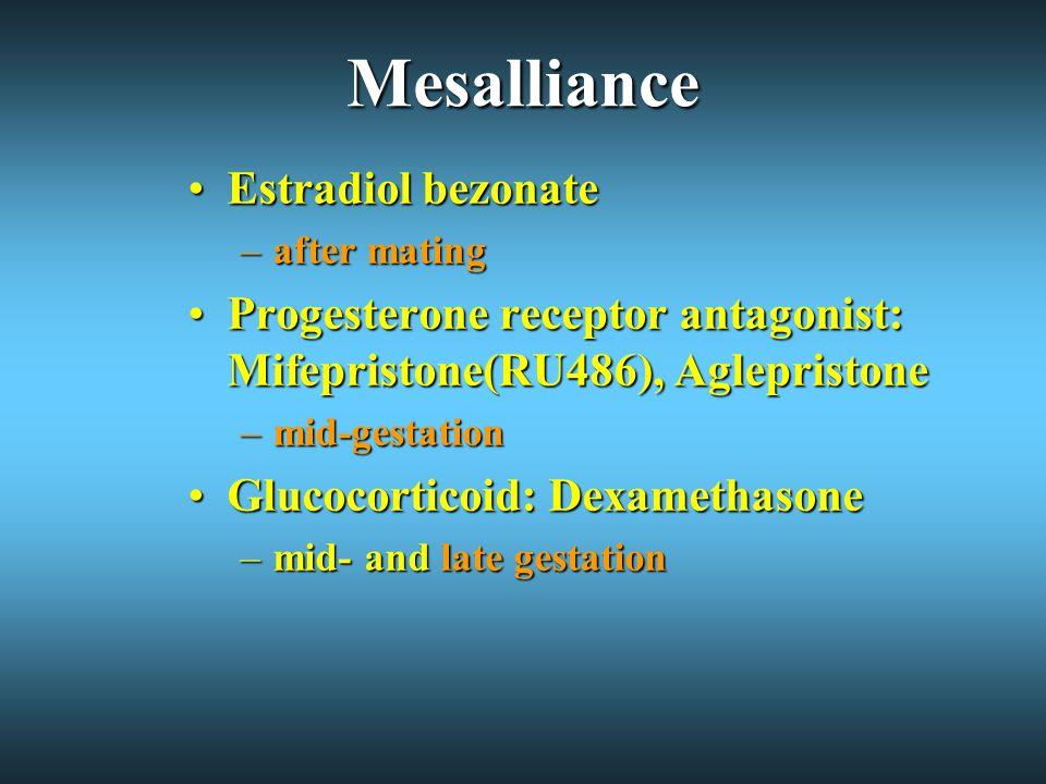 Mesalliance Estradiol bezonate