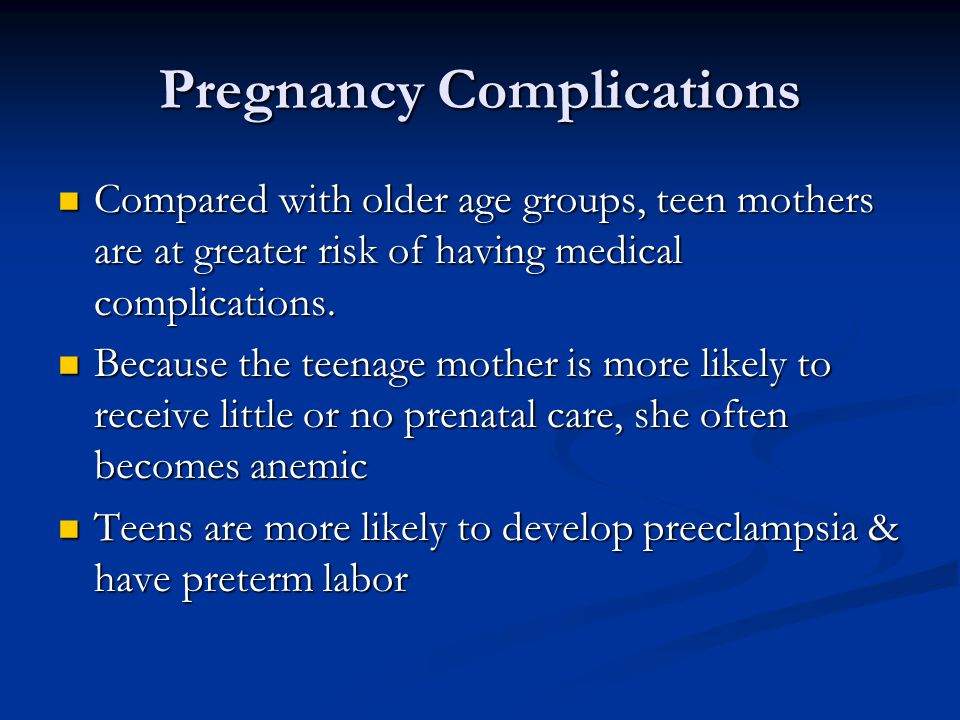 Pregnancy Complications