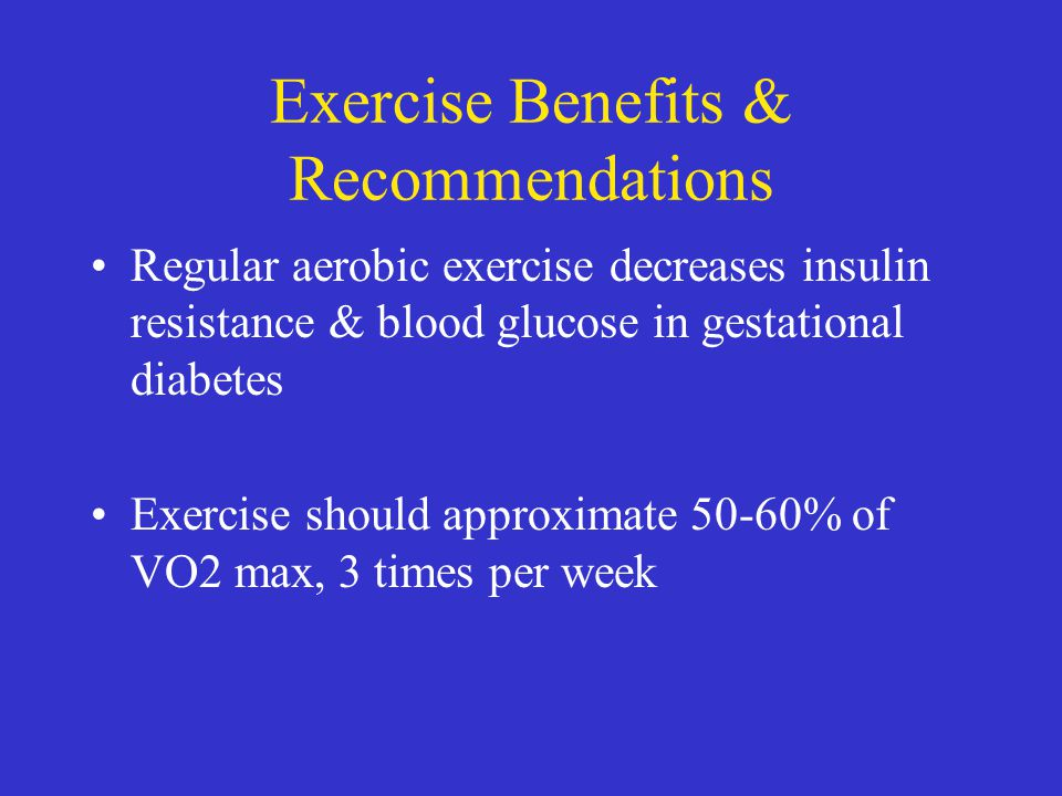 Exercise Benefits & Recommendations