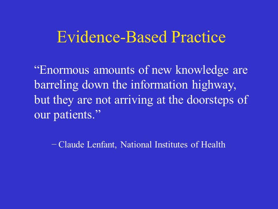 Evidence-Based Practice
