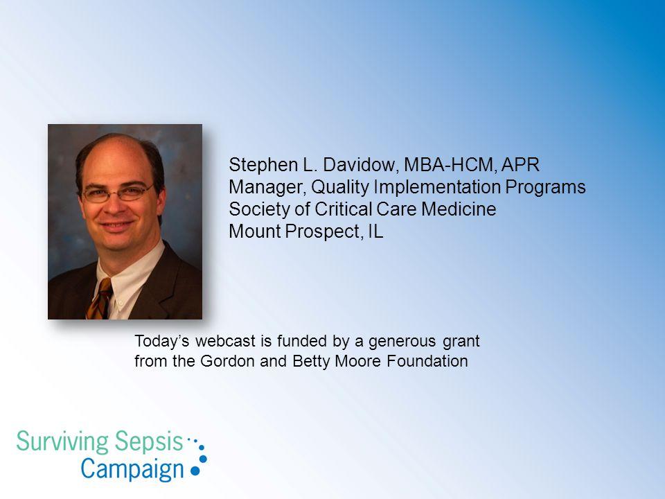 Stephen L. Davidow, MBA-HCM, APR