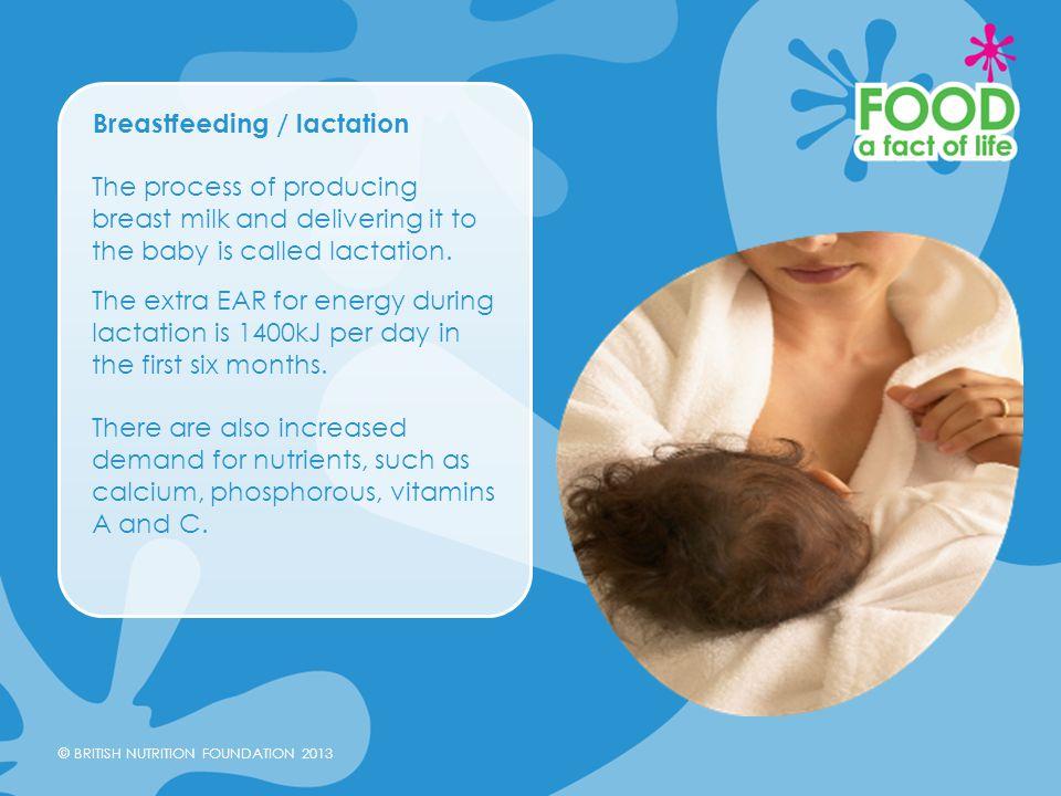 Breastfeeding / lactation