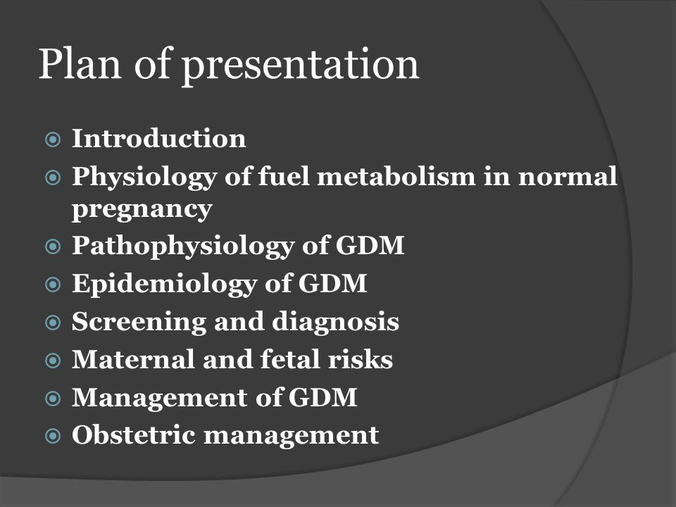 Plan of presentation Introduction