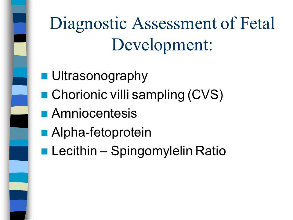 Diagnostic Assessment of Fetal Development: