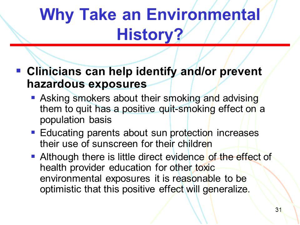 Why Take an Environmental History