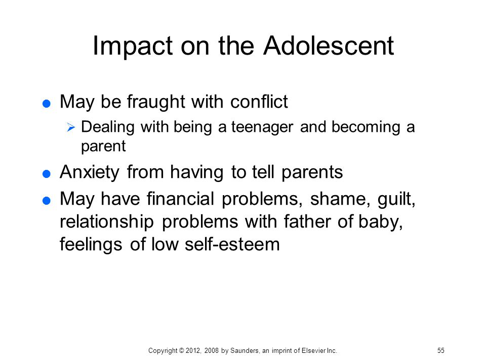 Impact on the Adolescent