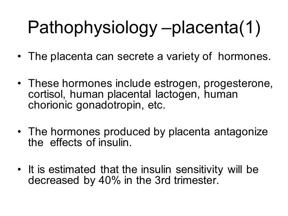Pathophysiology –placenta(1)