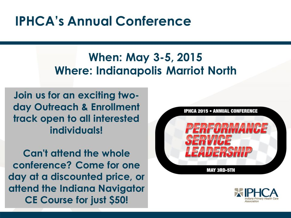 IPHCA's Annual Conference