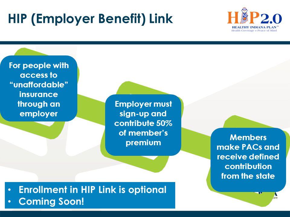 HIP (Employer Benefit) Link