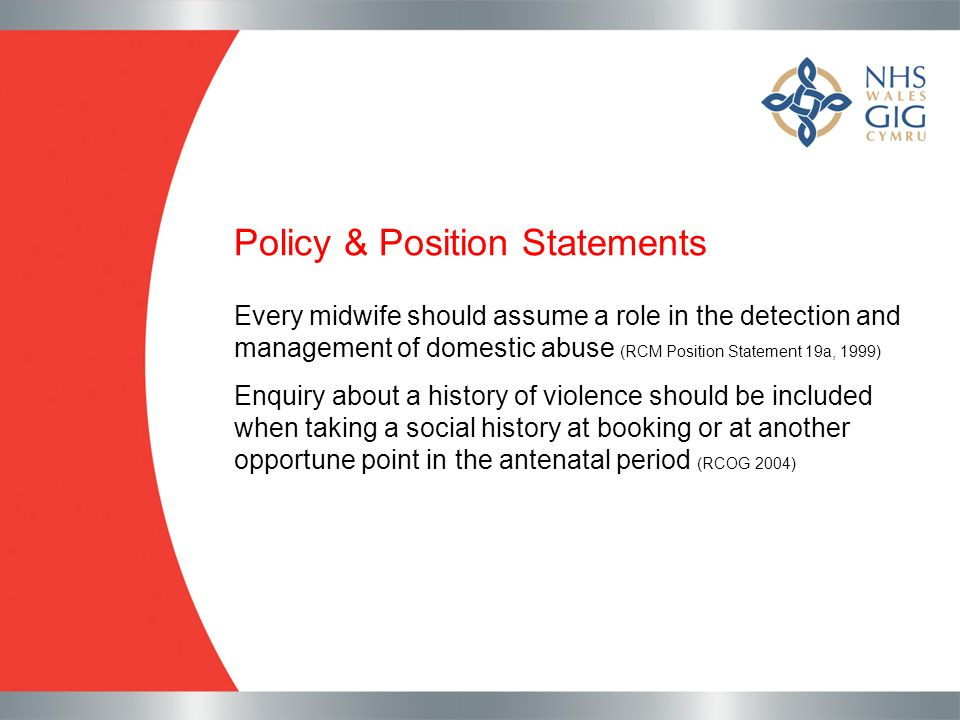 Policy & Position Statements