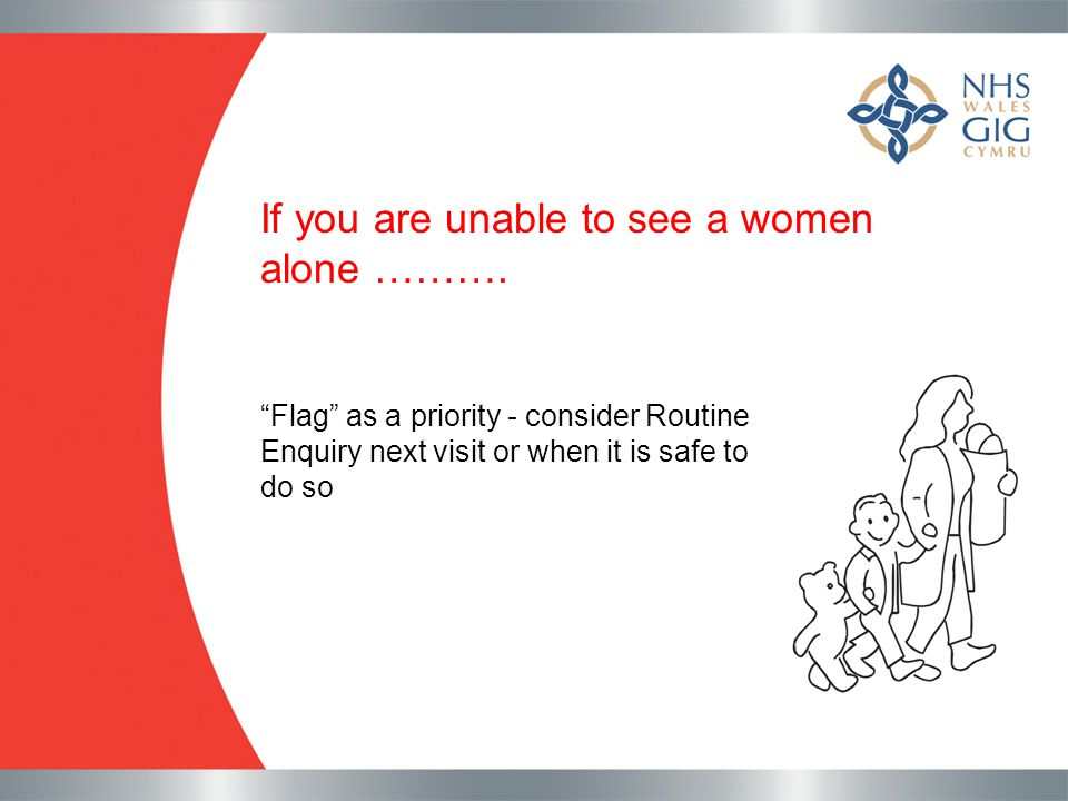 If you are unable to see a women alone ……….