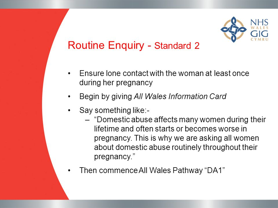 Routine Enquiry - Standard 2