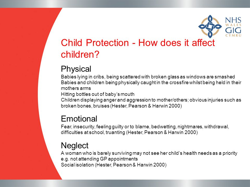 Child Protection - How does it affect children