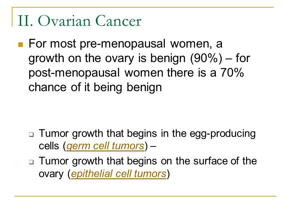 II. Ovarian Cancer