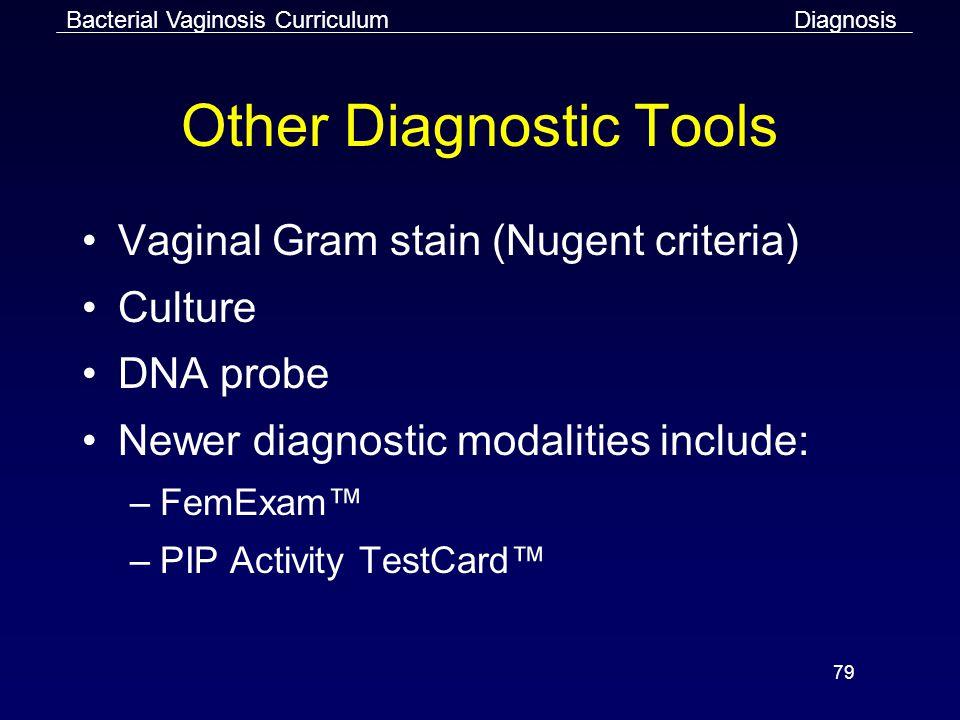 Other Diagnostic Tools