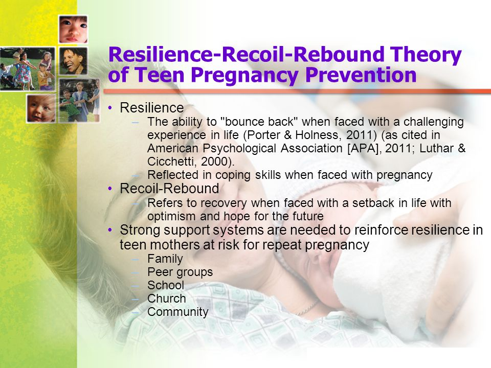 conflict theory on teen pregnancy Teenage pregnancy correlates  argue that clear gender roles and regulating sexual behavior are good for soci-ety because they reduce instability and conflict.