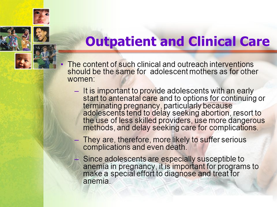 Outpatient and Clinical Care