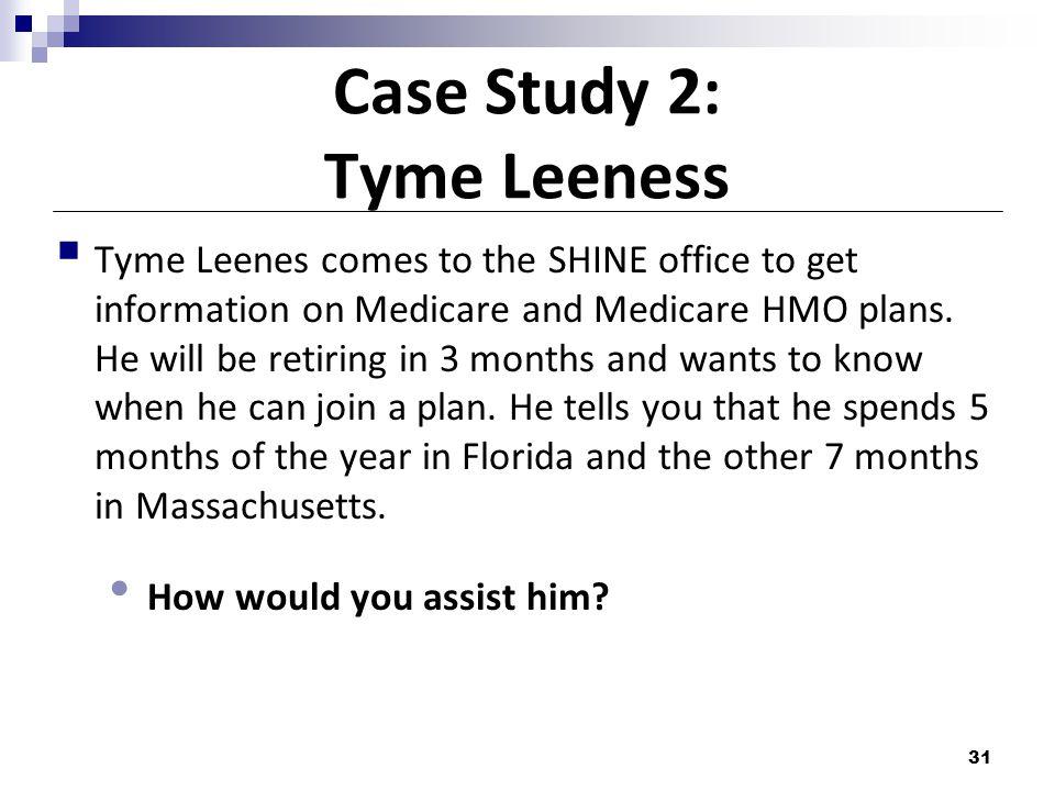 Case Study 2: Tyme Leeness