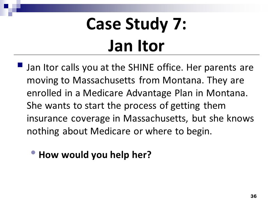 Case Study 7: Jan Itor