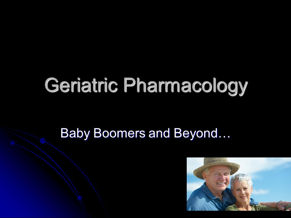Geriatric Pharmacology