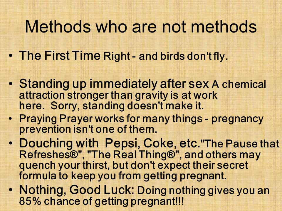 Methods who are not methods