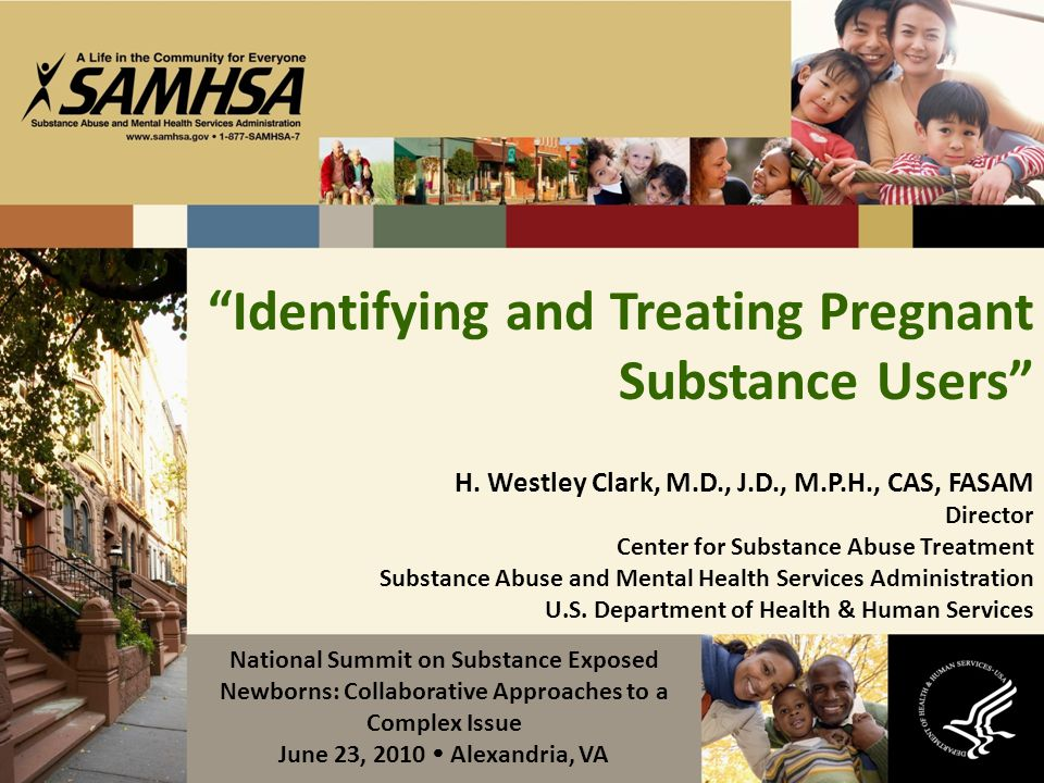 Identifying and Treating Pregnant Substance Users