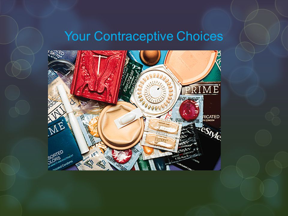 Your Contraceptive Choices
