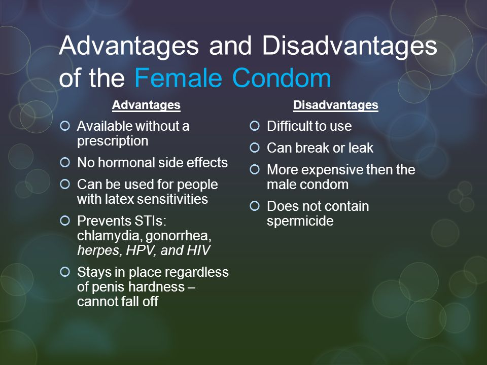 Advantages and disadvantages of the hpv