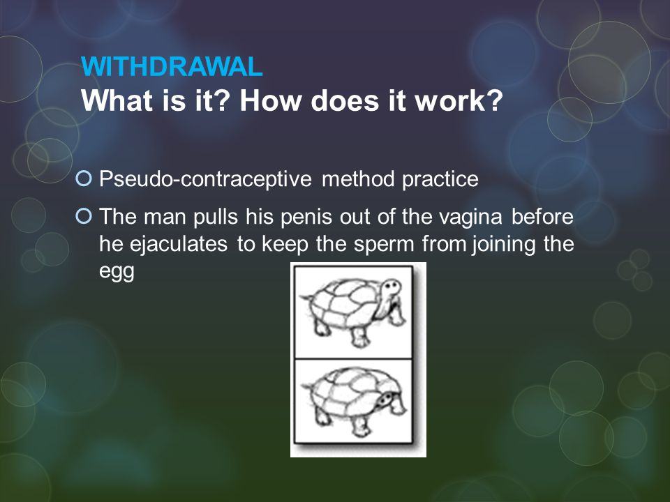 WITHDRAWAL What is it How does it work