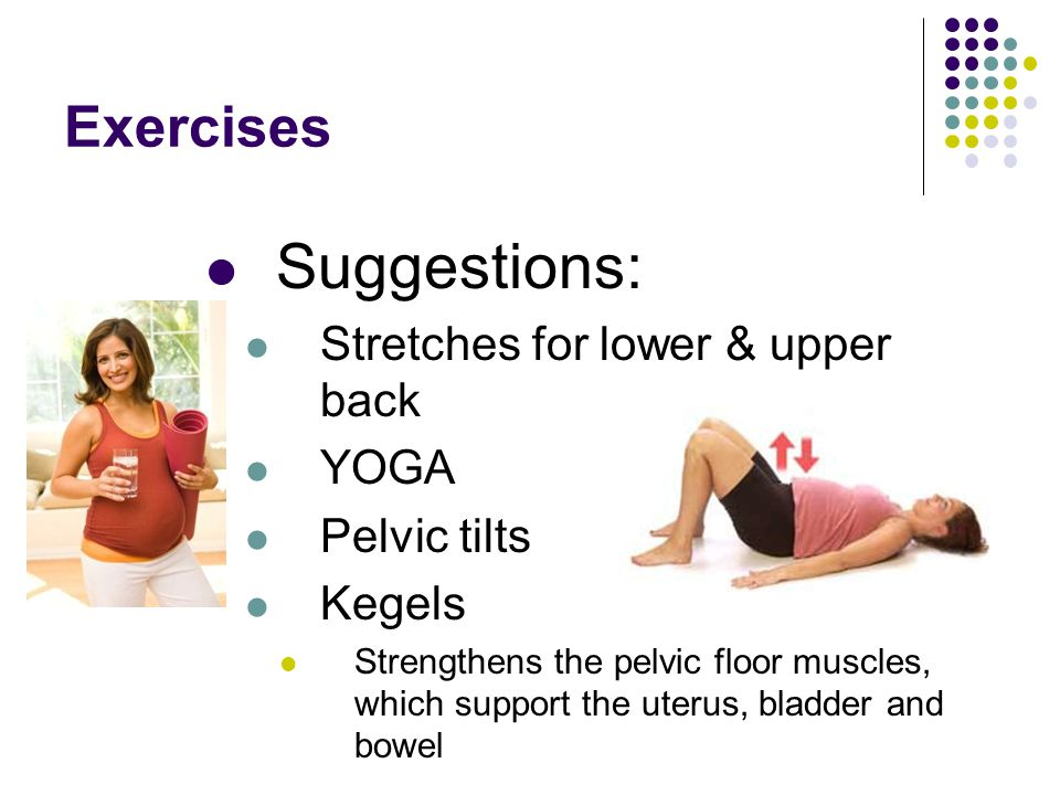 Suggestions: Exercises Stretches for lower & upper back YOGA