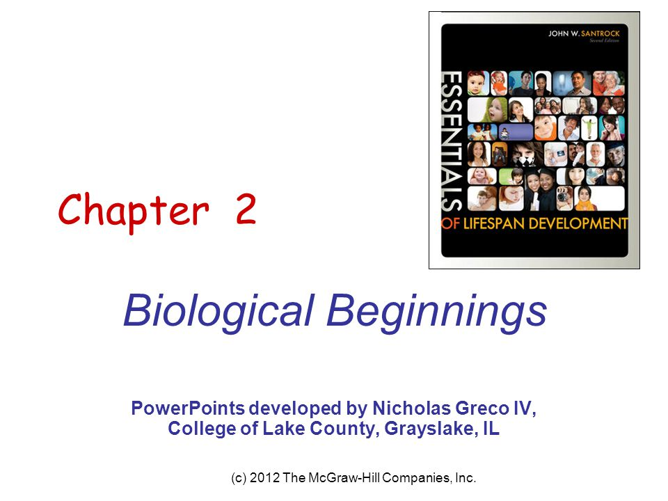 Biological Beginnings