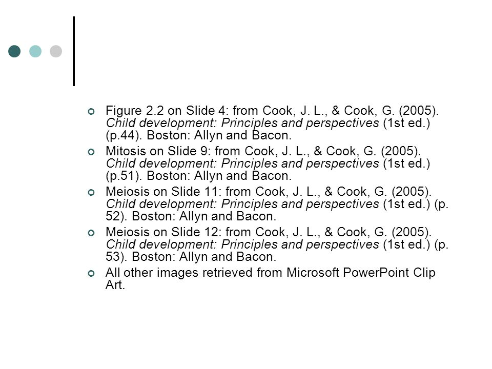 Figure 2. 2 on Slide 4: from Cook, J. L. , & Cook, G. (2005)
