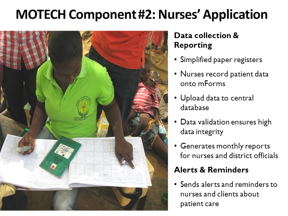 MOTECH Component #2: Nurses' Application