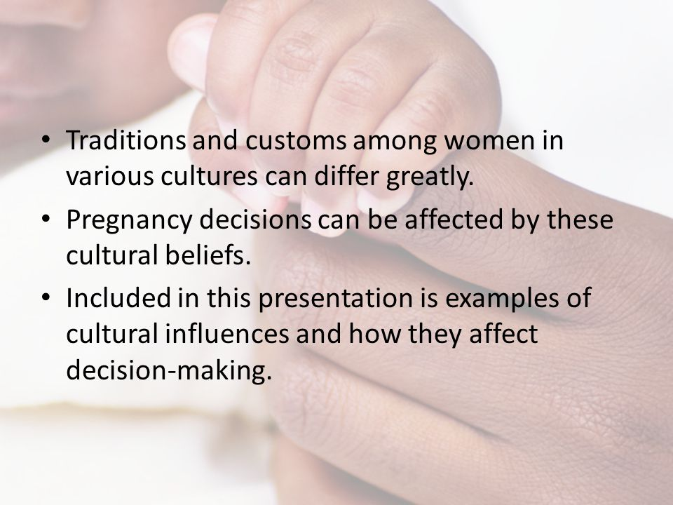 Traditions and customs among women in various cultures can differ greatly.