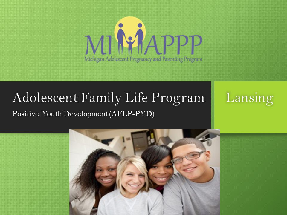 Adolescent Family Life Program Lansing