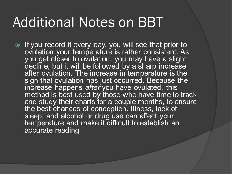 Additional Notes on BBT