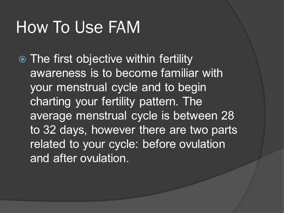 How To Use FAM