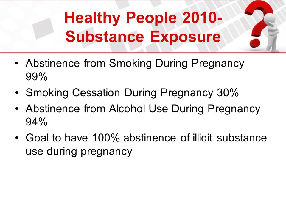 Healthy People 2010- Substance Exposure