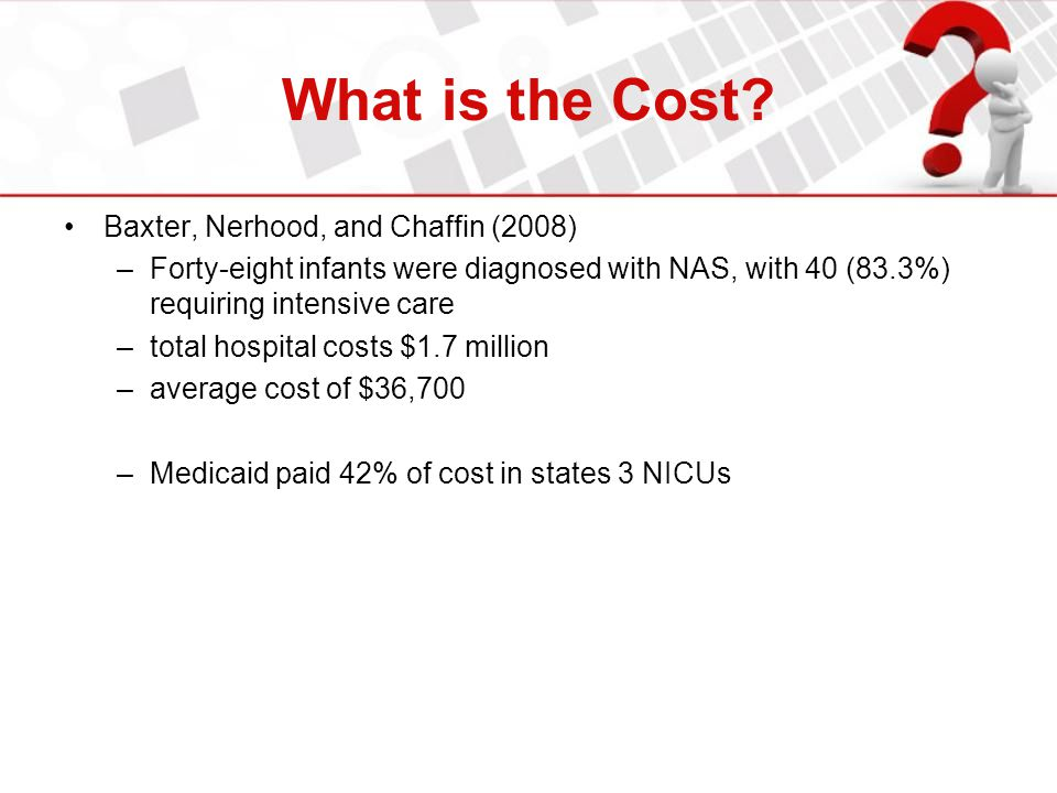 What is the Cost Baxter, Nerhood, and Chaffin (2008)