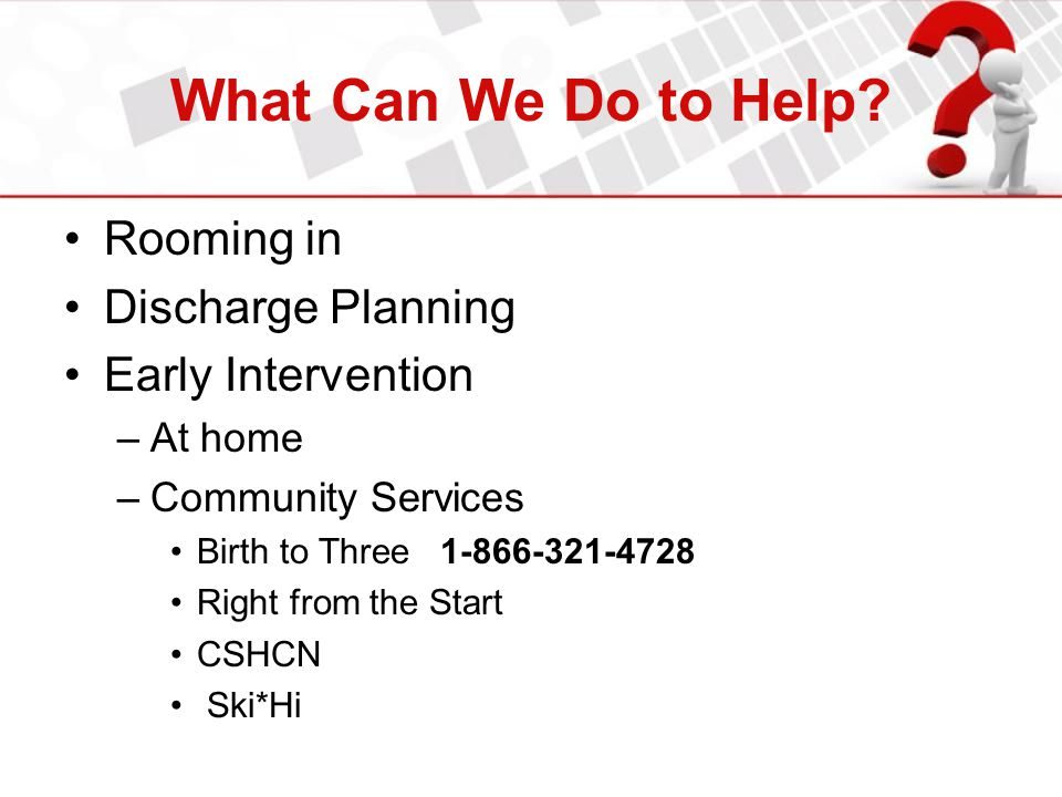 What Can We Do to Help Rooming in Discharge Planning