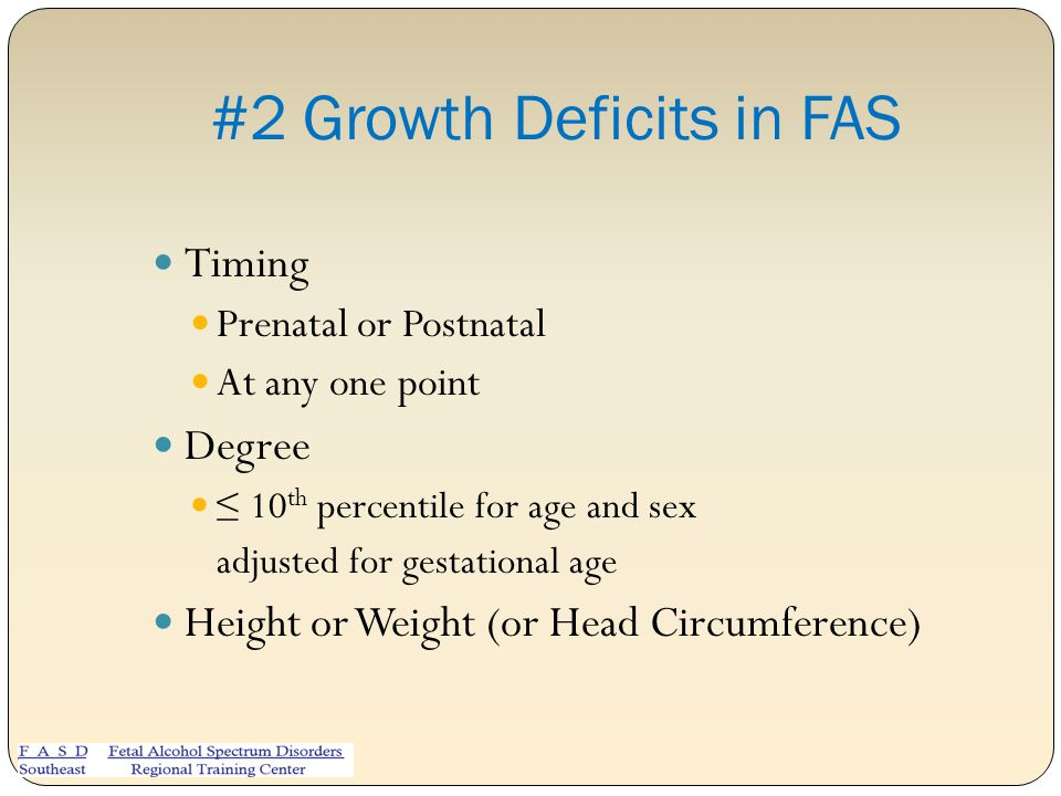 #2 Growth Deficits in FAS