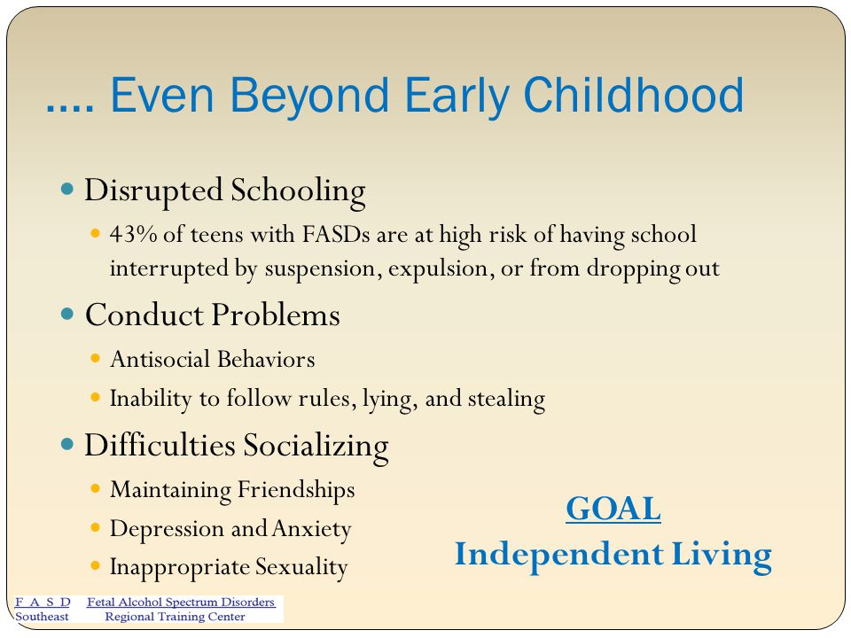 …. Even Beyond Early Childhood