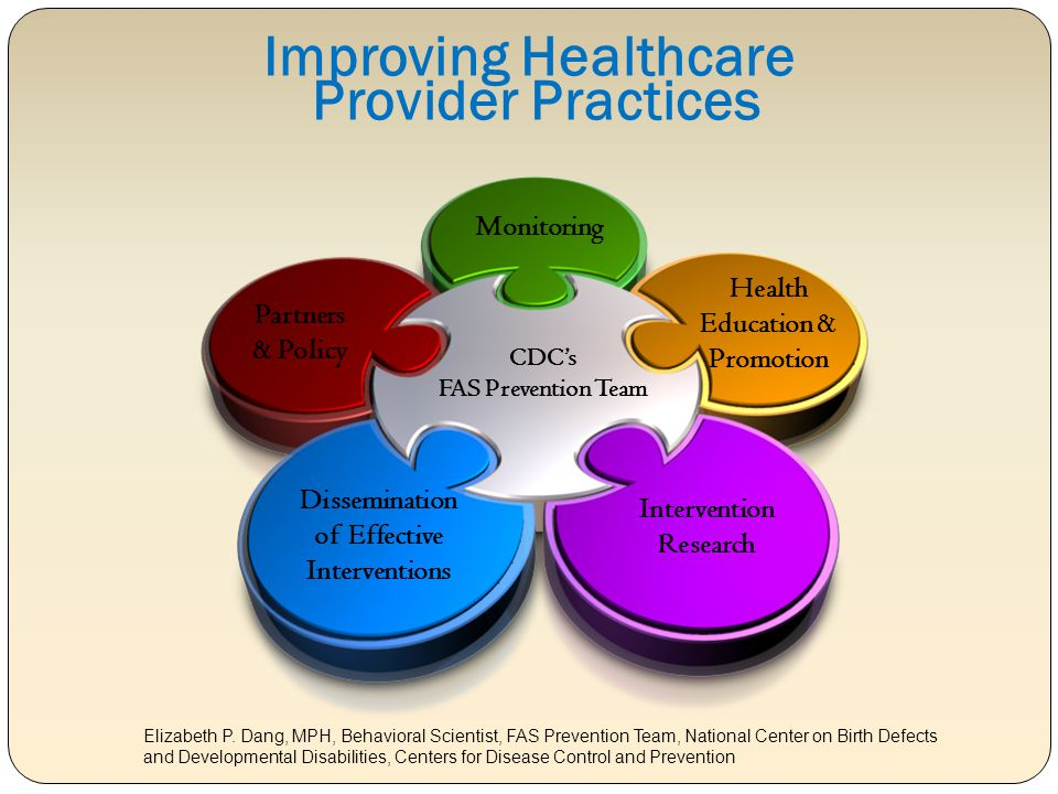 Improving Healthcare Provider Practices