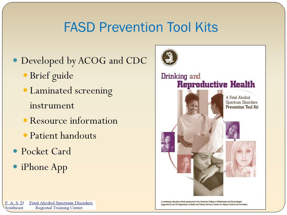 FASD Prevention Tool Kits